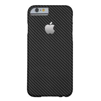 Coque iPhone 6 Barely There REGARD de FIBRE de CARBONE, POINT DE DROIT POUR
