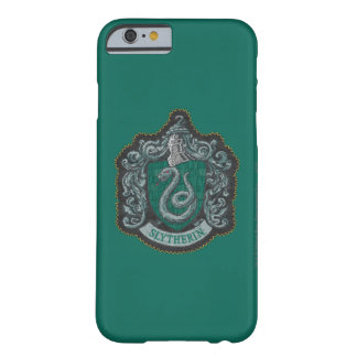 Coque iPhone 6 Barely There Rétro Slytherin crête puissante de Harry Potter |