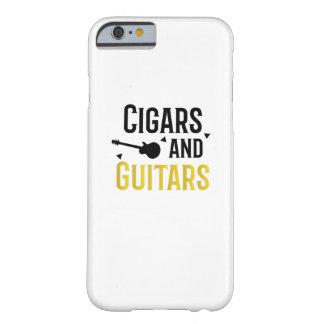 Coque iPhone 6 Barely There Roche de mélomane de musicien de cigares et de