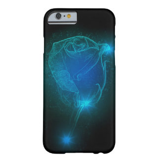 Coque iPhone 6 Barely There Rose de bleu