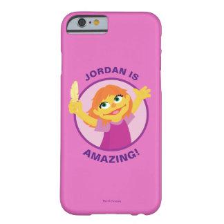 Coque iPhone 6 Barely There Sesame Street | Julia tenant la plume