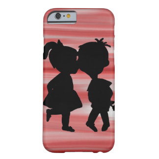 Coque iPhone 6 Barely There Silhouette d'amour