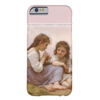 Coque iPhone 6 Barely There Soeurs et musique de cannelure par Bouguereau