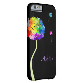 Coque iPhone 6 Barely There Souhaits de pissenlit de sensibilisation sur