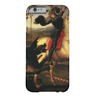 Coque iPhone 6 Barely There St George combattant le dragon, Raphael, Raffaello