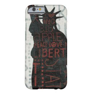 Coque iPhone 6 Barely There Statue de silhouette de liberté