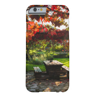 Coque iPhone 6 Barely There Sun par le feuille d'automne, Croatie