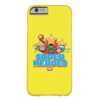 Coque iPhone 6 Barely There Superhéros de vengeur de Kawaii graphiques