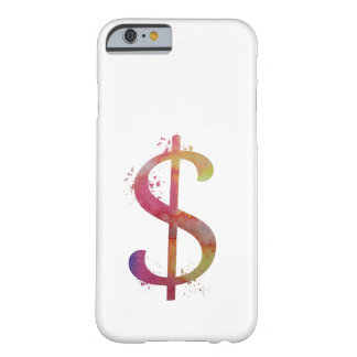 Coque iPhone 6 Barely There Symbole dollar