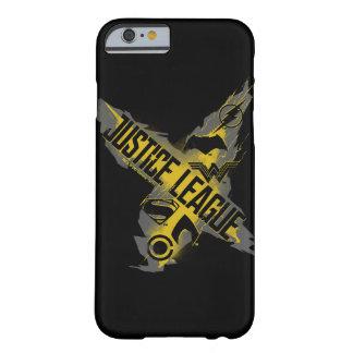 Coque iPhone 6 Barely There Symboles de ligue et d'équipe de justice de la