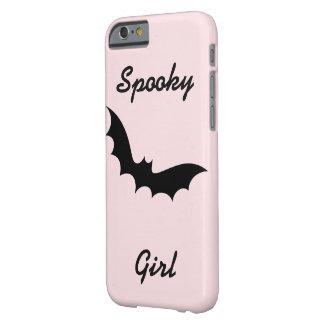 Coque iPhone 6 Barely There Téléphone éffrayant de fille/couverture de