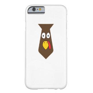 Coque iPhone 6 Barely There Thanksgiving de cravate de la Turquie pour le