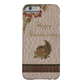 Coque iPhone 6 Barely There Thanksgiving simili cuir 1