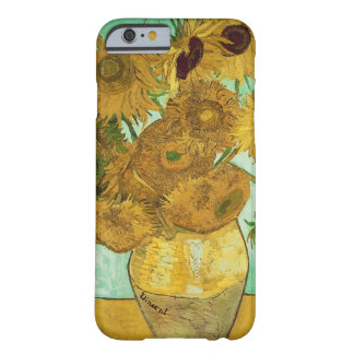 Coque iPhone 6 Barely There Tournesols de Vincent van Gogh |, 1888