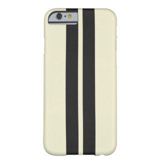 Coque iPhone 6 Barely There Tout noir blanc de poivre de couleur emballant des
