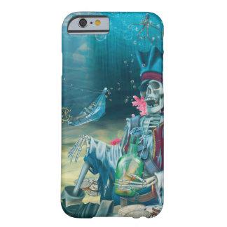 Coque iPhone 6 Barely There Trésor squelettique de pirate sous la mer