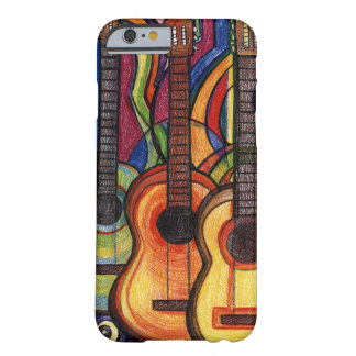 Coque iPhone 6 Barely There Trois guitares