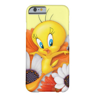 Coque iPhone 6 Barely There Tweety avec des marguerites