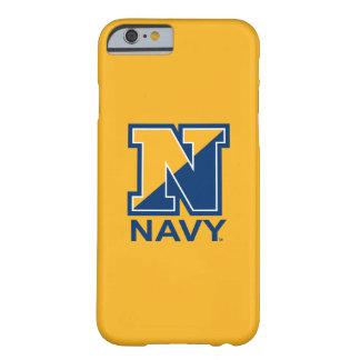 Coque iPhone 6 Barely There U.S. Initiale N de marine de la marine |