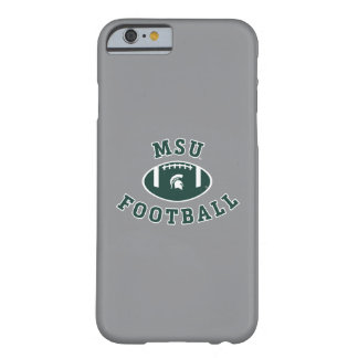 Coque iPhone 6 Barely There Université de l'Etat d'État du Michigan du