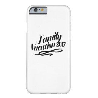 Coque iPhone 6 Barely There Vacances de famille drôles de vacances d'été 2017