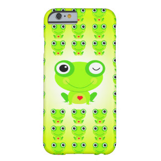 Coque iPhone 6 Barely There Vert Grenouille