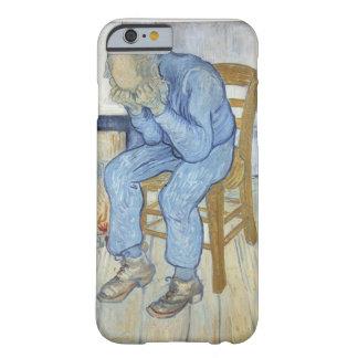 Coque iPhone 6 Barely There Vieil homme de Vincent van Gogh | dans la peine