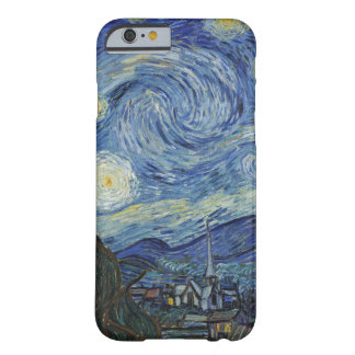 Coque iPhone 6 Barely There Vincent van Gogh | la nuit étoilée, juin 1889