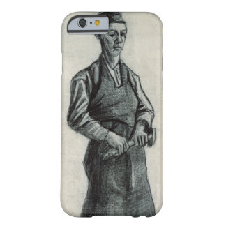 Coque iPhone 6 Barely There Vincent van Gogh | le jeune forgeron, 1882