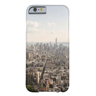 Coque iPhone 6 Barely There Vue aérienne de Manhattan New York