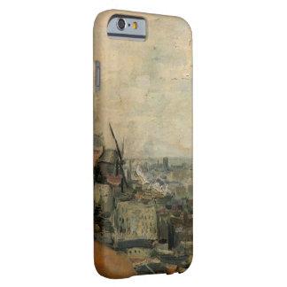 Coque iPhone 6 Barely There Vue de Van Gogh de Paris de Montmarte, beaux-arts