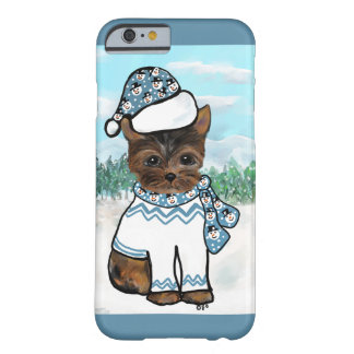 Coque iPhone 6 Barely There Yorkie Poo