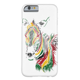 Coque iPhone 6 Barely There Zèbre africain
