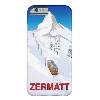 Coque iPhone 6 Barely There Zermatt