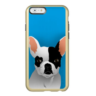 Coque iPhone 6 Incipio Feather® Shine Art de bouledogue - bouledogue français