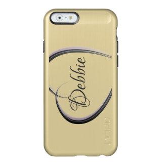 Coque iPhone 6 Incipio Feather® Shine Coeur simple | personnalisé