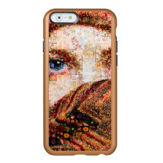 Coque iPhone 6 Incipio Feather® Shine Collage-oeil-fille bédouine de fille-oeil de