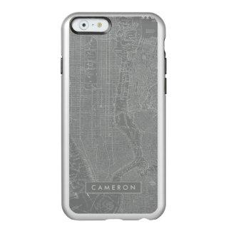 Coque iPhone 6 Incipio Feather® Shine Croquis de carte de New York City