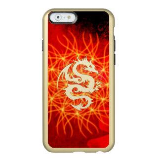 Coque iPhone 6 Incipio Feather® Shine Dragon d'or merveilleux
