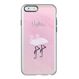 Coque iPhone 6 Incipio Feather® Shine Flamants roses personnels