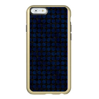 COQUE iPhone 6 INCIPIO FEATHER® SHINE MARBRE CIRCLES1 NOIR ET DENIM BLEU
