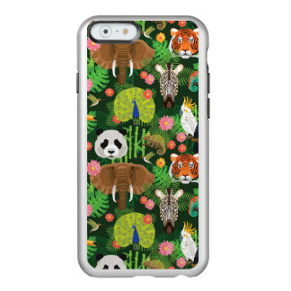 Coque iPhone 6 Incipio Feather® Shine Mélange animal tropical
