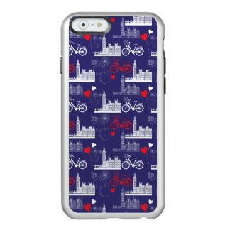 Coque iPhone 6 Incipio Feather® Shine Motif de points de repère de Londres