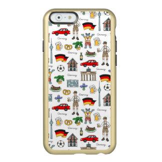 Coque iPhone 6 Incipio Feather® Shine Motif de symboles de l'Allemagne |