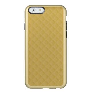 Coque iPhone 6 Incipio Feather® Shine Motif d'édredon piqué par or antique
