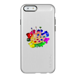 Coque iPhone 6 Incipio Feather® Shine Palette et brosses d'artiste