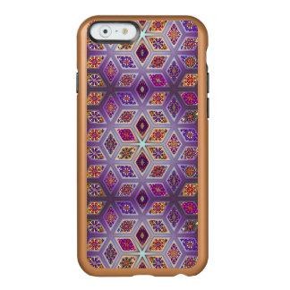 Coque iPhone 6 Incipio Feather® Shine Patchwork vintage avec les éléments floraux de