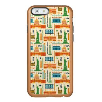 Coque iPhone 6 Incipio Feather® Shine Points de repère des Etats-Unis d'Amérique