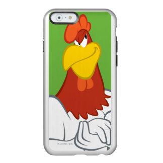 Coque iPhone 6 Incipio Feather® Shine Regard fixe malfaisant de la leghorn | de corne de