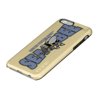 Coque iPhone 6 Incipio Feather® Shine U.S. Bataillon de construction de marine